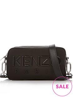 kenzo-paris-nylon-cross-body-bag-black