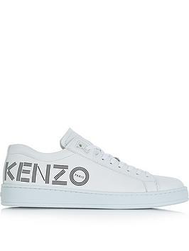 kenzo-tennix-logo-trainers-white