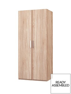 Waterford Ready Assembled 2 Door Wardrobe