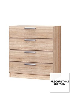 Waterford Ready Assembled 4 Drawer Chest