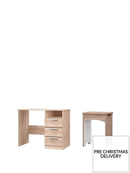 waterford-3-drawer-dressing-table-and-stool-set