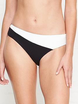 seafolly-your-type-jacquardnbsplogo-colour-block-bikini-bottoms-blackwhite