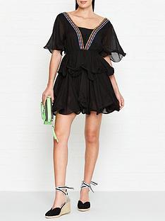pitusa-tallulah-short-tiered-dress--black