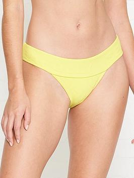 seafolly-your-type-jacquardnbsplogo-banded-hipster-bikini-bottoms-yellow
