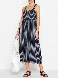 seafolly-stripe-button-through-dress-indigo
