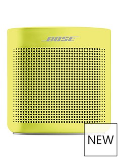 Bose SoundLink Colour Bluetooth Speaker II - Yellow Citron