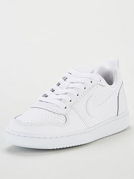nike-childrens-court-borough-low-trainers-white