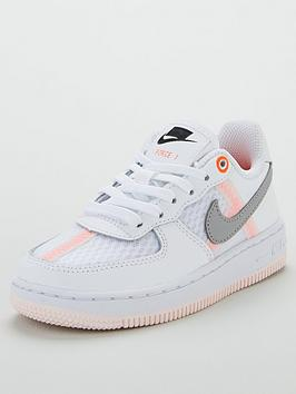 nike-force-1-lv8-childrens-trainers-whitegreyorange