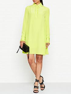 mcq-alexander-mcqueen-ruffle-trim-dress-lime-green