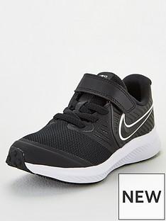 nike-childrens-star-runner-2-trainers-blackwhite
