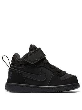 nike-infant-court-borough-mid-trainers-black