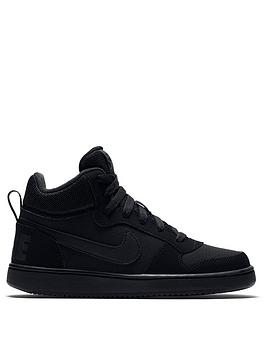 nike-youth-court-borough-mid-trainers-black