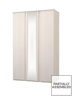 Avalon 3 Door Mirrored Wardrobe
