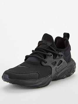 nike-react-presto-junior-trainers-black