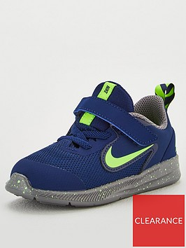 nike-infant-downshifter-9-russell-wilson-trainers-bluegreen