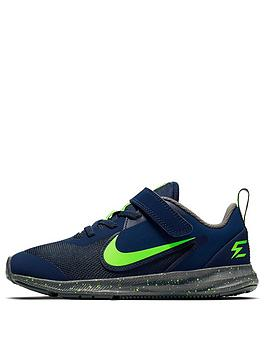 nike-childrens-downshifter-9-russell-wilson-trainers-bluegreen