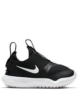 nike-flex-runner-infant-trainers-blackwhite
