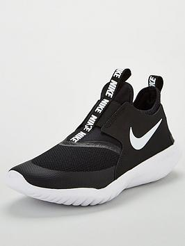 nike-flex-runner-junior-trainers-blackwhite