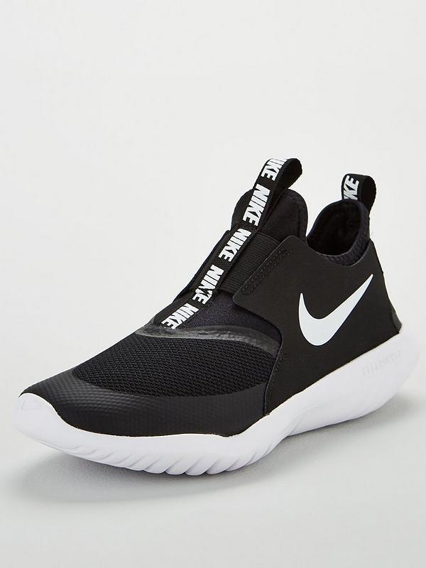 acheter en ligne 26f7c 639f8 Flex Runner Junior Trainers - Black/White