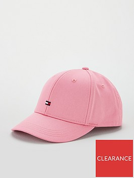 tommy-hilfiger-girls-small-flag-cap-pink