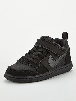 nike-childrens-court-borough-low-trainers-black