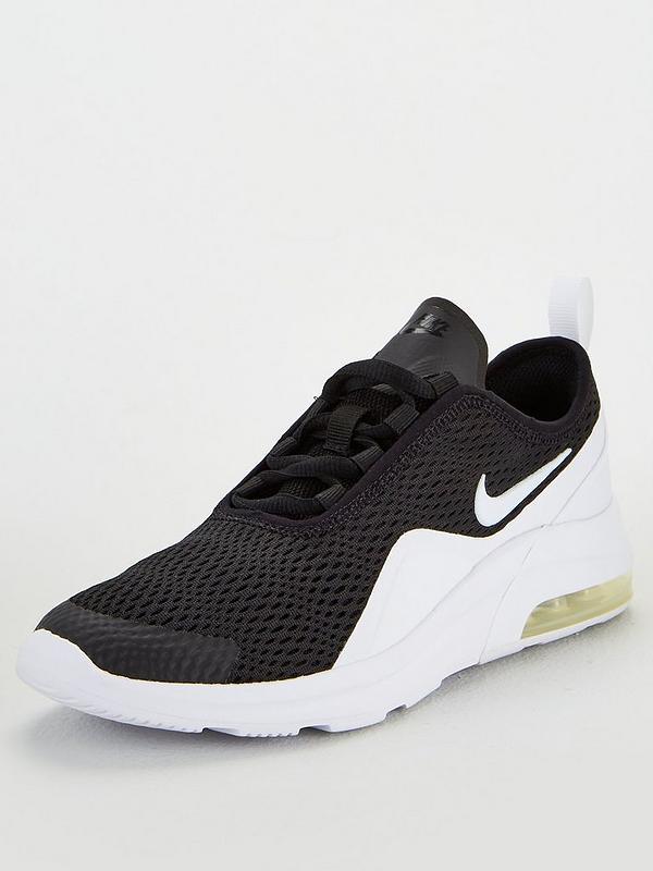 semáforo volumen Red  Nike Air Max Motion 2 Junior Trainers - Black/White | very.co.uk