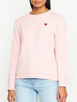 lulu-guinness-sami-heart-patch-sweatshirt-pink