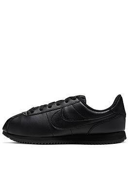nike-junior-cortez-basic-sl-trainers-black