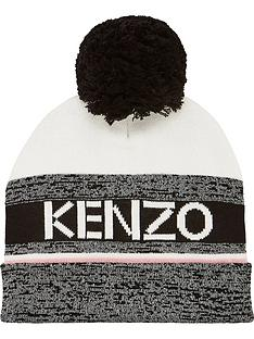 kenzo-girls-knitted-bobble-hat