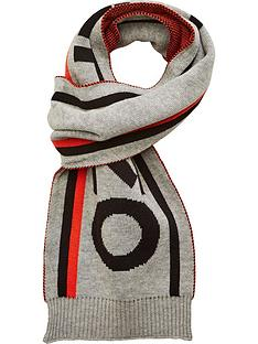 kenzo-boys-logo-scarf