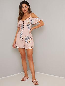 chi-chi-london-chi-chi-london-aurora-floral-cold-shoulder-playsuit