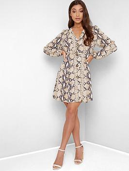 chi-chi-london-tiggy-snake-print-dress