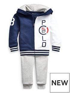 2cd3e3072 Ralph Lauren Ralph Lauren Baby Boys Hoodie & Jogger Outfit