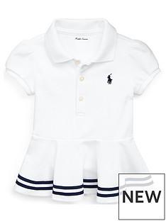 7037b917c Ralph Lauren Ralph Lauren Baby Girls Classic Peplum Polo