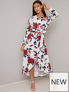 chi-chi-london-floral-wrap-midi-dress