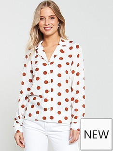v-by-very-spot-open-collar-blouse-spotnbsp