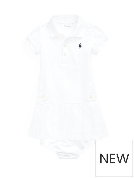 fce397c3f Ralph Lauren Ralph Lauren Baby Girls Pleated Polo Dress | very.co.uk