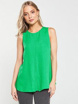 v-by-very-sleeveless-longline-tunic-green