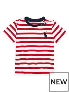 ea4e3fc2c Ralph Lauren Ralph Lauren Baby Boys Short Sleeve Stripe T-shirt