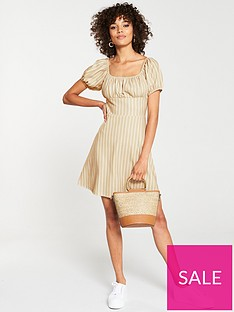 v-by-very-milk-maid-dress-stripe