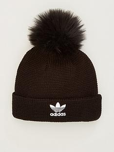 adidas-originals-fur-pom-beanie-black