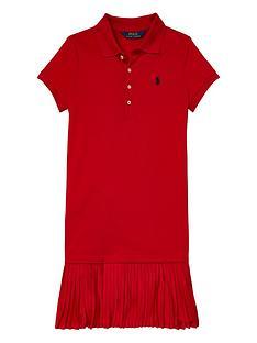 ralph-lauren-girls-pleat-polo-dress-red