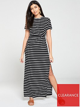 v-by-very-knotted-maxi-dress-navy-white
