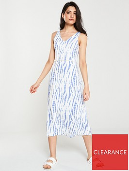 v-by-very-tie-dye-jersey-midi-dress-blue