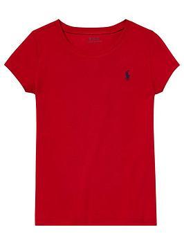ralph-lauren-girls-classic-short-sleeve-t-shirt-red