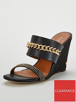 kurt-geiger-london-charing-chain-wedge-sandals-black
