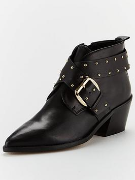 kurt-geiger-london-denzell-ankle-boots-black