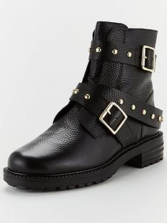 kurt-geiger-london-stinger-ankle-boots-black