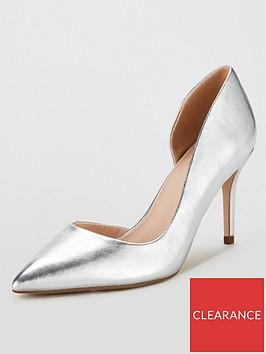 miss-kg-celia-wide-fit-dorsay-court-shoes-silver