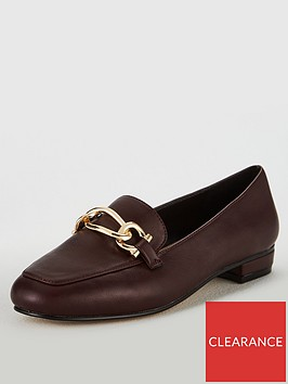 carvela-marble-chain-loafers-wine